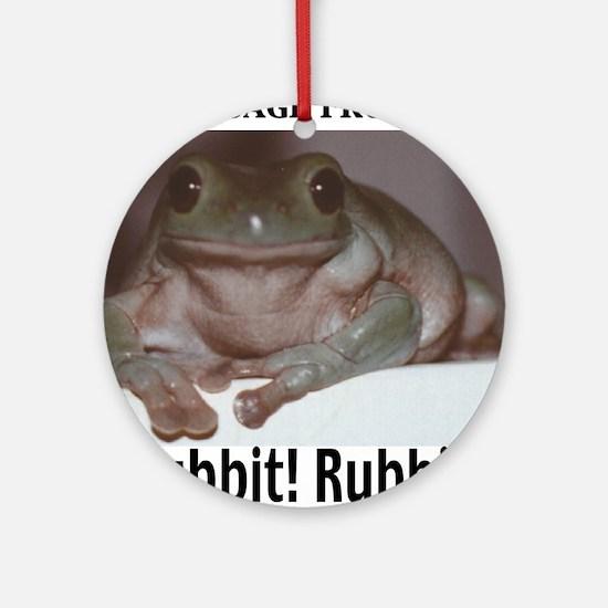 Massage Frog Keepsake (Round)