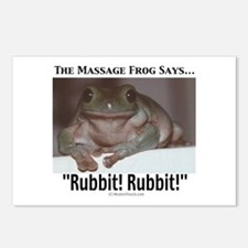 Massage Frog Postcards (Package of 8)
