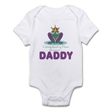 Daddy is my Prince Frog Baby Infant Bodysuit