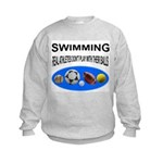 Real Athletes Kids Sweatshirt
