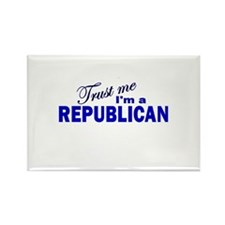 Trust Me I'm a Republican Rectangle Magnet