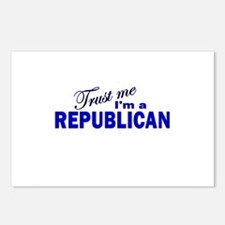 Trust Me I'm a Republican Postcards (Package of 8)