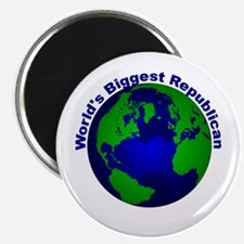 "World's Biggest Republican 2.25"" Magnet (10 pack)"