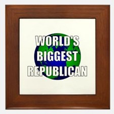World's Biggest Republican Framed Tile
