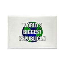 World's Biggest Republican Rectangle Magnet