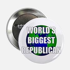 """World's Biggest Republican 2.25"""" Button"""