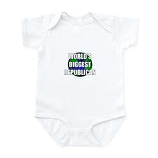 World's Biggest Republican Infant Bodysuit