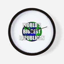 World's Biggest Republican Wall Clock