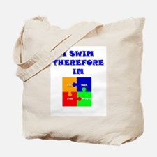 I swim therefore IM Tote Bag