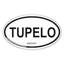 Tupelo Oval Decal