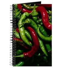 Chili Peppers Blank Recipe Book