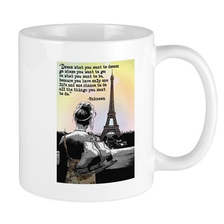 Paris Skating Mugs