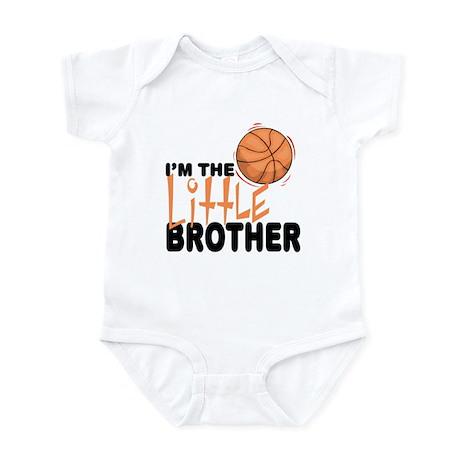 Little Brother Basketball Baby Infant Bodysuit