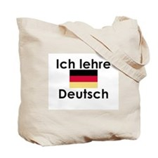 I teach German (Deutsch) Tote Bag