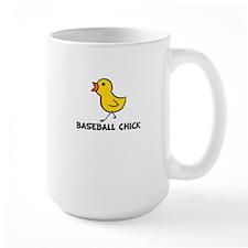 Baseball Chick Mug