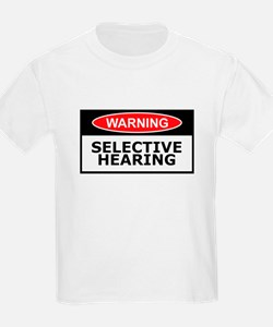 Funny hearing slogan T-Shirt