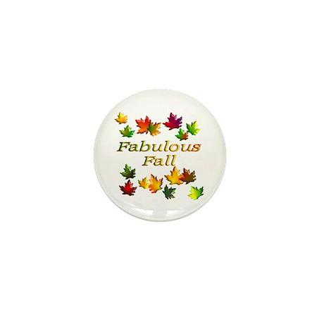 Fabulous Fall Mini Button