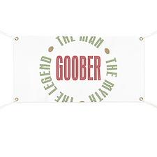 Goober Man Myth Legend Banner