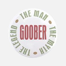 "Goober Man Myth Legend 3.5"" Button"