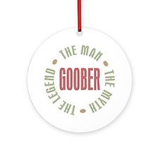 Goober Man Myth Legend Ornament (Round)