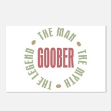 Goober Man Myth Legend Postcards (Package of 8)