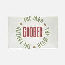 Goober Man Myth Legend Rectangle Magnet
