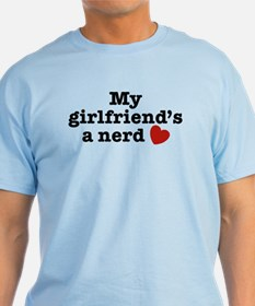 My Girlfriend's a Nerd T-Shirt