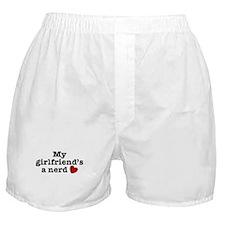 My Girlfriend's a Nerd Boxer Shorts