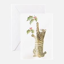 Reaching for Mistletoe Cards (Pk of 20)