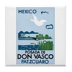 Patzcuaro Mexico Tile Coaster