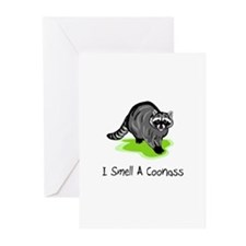 I Smell A CoonAss Greeting Cards (Pk of 10)