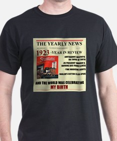 born in 1923 birthday gift T-Shirt