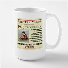 born in 1926 birthday gift Large Mug