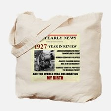 born in 1927 birthday gift Tote Bag