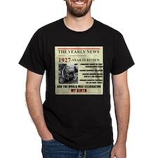 born in 1927 birthday gift T-Shirt