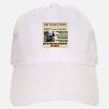 born in 1927 birthday gift Baseball Baseball Cap