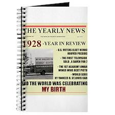 born in 1928 birthday gift Journal