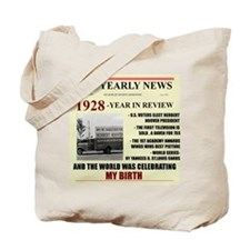 born in 1928 birthday gift Tote Bag