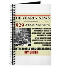 born in 1929 birthday gift Journal