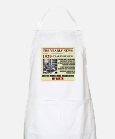 born in 1929 birthday gift BBQ Apron