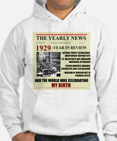 born in 1929 birthday gift Hoodie