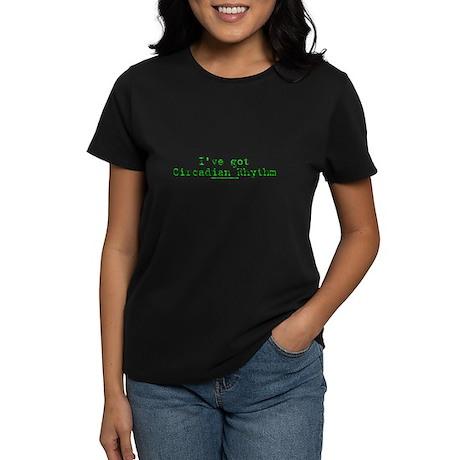 Circadian Rhythm Women's Dark T-Shirt