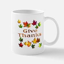 Give Thanks Mug