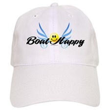 Boat Happy Baseball Cap