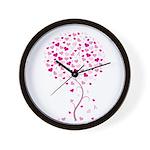 Pink Ribbon Tree - Tree of Ho Wall Clock