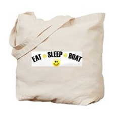 Eat, Sleep, Boat Tote Bag