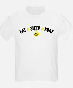 Eat, Sleep, Boat T-Shirt