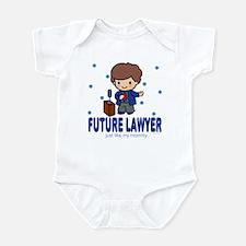 Future Lawyer like Mommy Baby Infant Bodysuit
