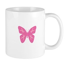 Breast Cancer Awareness Butte Mug