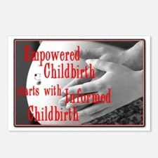 Empowered Childbirth Postcards (Package of 8)